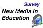 New Media in Education Survey